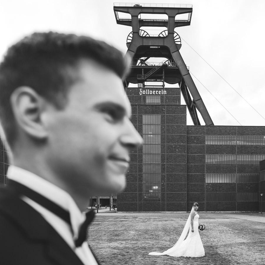 Zeche Zollverein Hochzeit kreativ