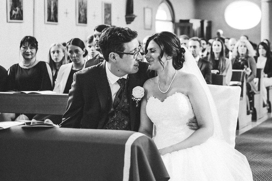 Hochzeit in Blankenbach - Momentaufnahme in der Kirche