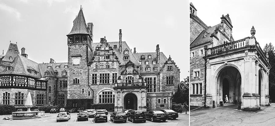 Schlosshotel Kronberg von außen