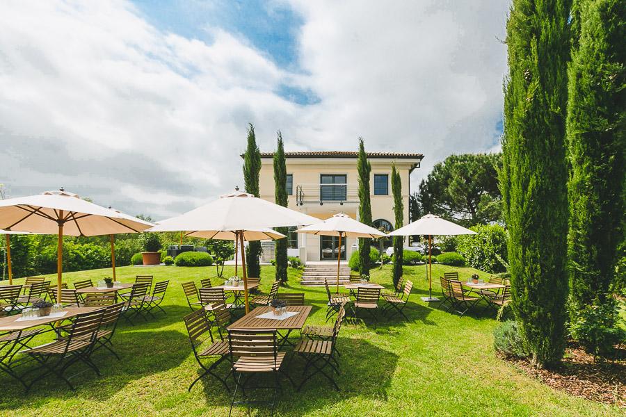 Hochzeitslocation wie in der Toskana - Weingut Mussler